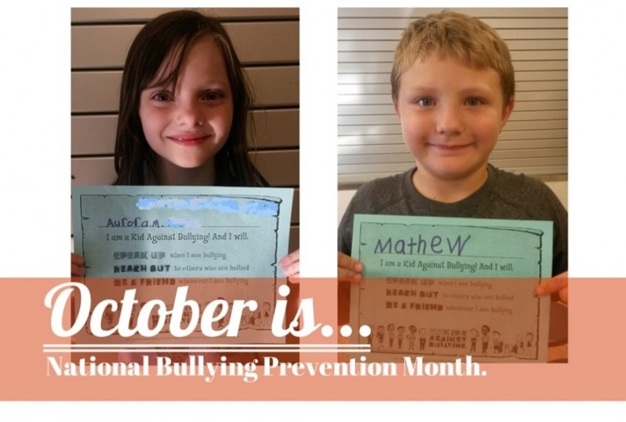 National Bullying Month Banner - 980