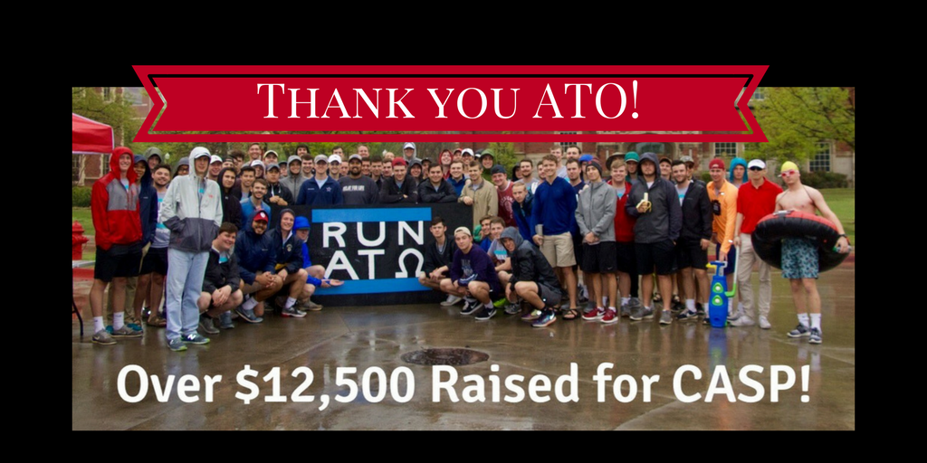 ATO Fundraiser Thanks
